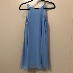 Tyche Light Blue Halter Top Dress